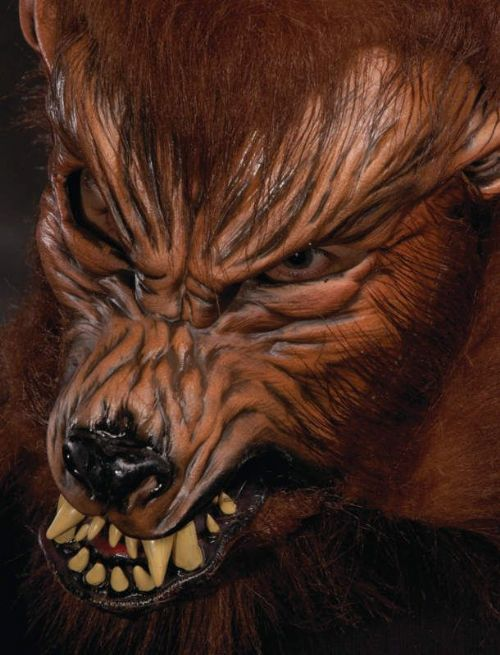 Mask Moving Mouth Wolf Howl O Ween Teenwolf Teen Animal Halloween Beast